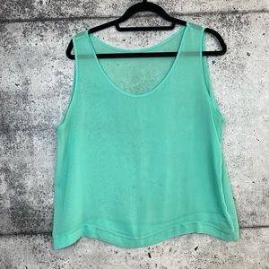 American Apparel // Sheer Chiffon Tank